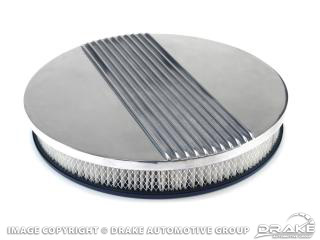 """14"""" Aluminum Finned Air Cleaner Assembly"""