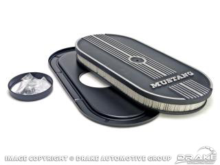Cobra Oval Air Cleaners (Mustang logo )