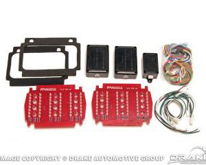 65-6 LED Sequential Tail Light Kit