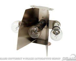 1965-6 Taillamp 3-bulb Inserts