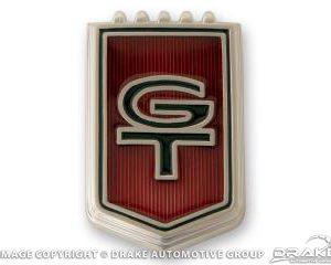 "1966 Fender ""GT"" Emblems"