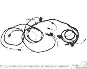 1966 Headlight Wiring Harness (With Gauges)
