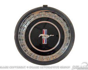 67 Steering Wheel Hub Emblem