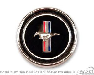 67-68 Deluxe Dash Panel Emblem & Base