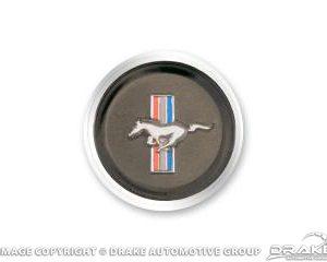 1968 Horn Panel Horse Emblem