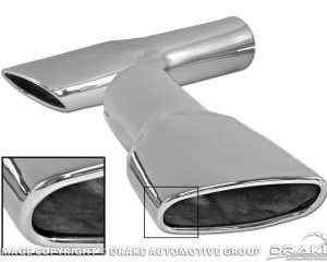1970 Concours Exhaust Tips (Pair)