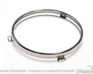 65-73(Exc 69)Headlamp Ring (Stainless Steel)