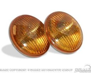 65-68 Amber fog bulbs (pair)