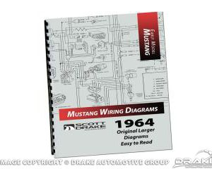 1964 PRO Wiring Diagram Manual Large Format