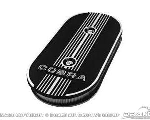 Cobra Oval Air Cleaners (Single Carb Bottom Plate)