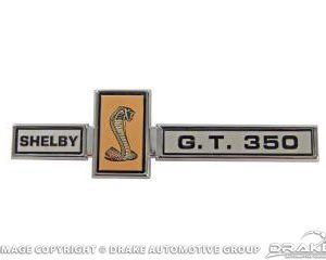 67 GT350 Grill Dash and Deck Emblem