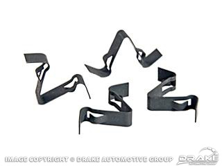 64-70 Defroster Duct Clips