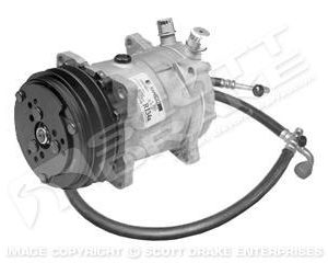 64-5 Sanden Compressor Conversion Kit (289, R12)