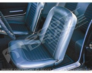 64-65 Full Set Coupe Upholstery (Standard, Black)