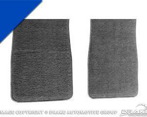 64-8 Carpet Floor Mats (Bright Blue)