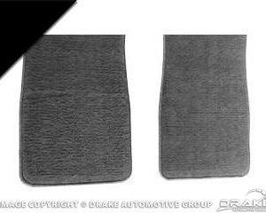 Carpet Floor Mats (Black)