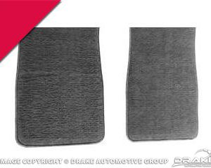 64-73 Carpet Floor Mats (Bright Red)