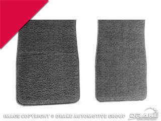 64-73 Carpet Floor Mats (Bright Red)