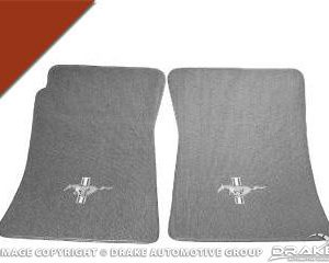 Custom Full-Size Carpet Floor Mats (Emberglow)