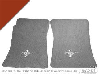 Custom Full-Size Carpet Floor Mats (Emberglow)