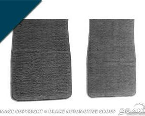 64-73 Carpet Floor Mats (Dark Blue)