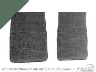 64-73 Carpet Floor Mats (Ivy Gold)