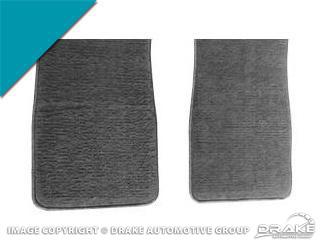 65-8 Carpet Floor Mats (Turquoise)