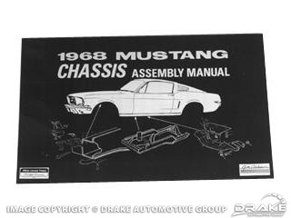 1968 Mustang Chassis Assembly Manual