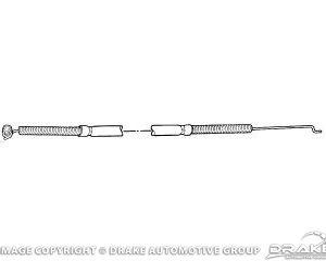 64-66 Defrost Control Cable