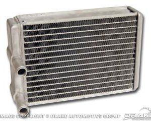 64-68 Heater core, aluminum