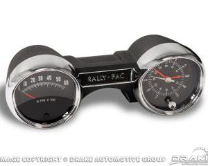 65 Rally pac v8 6000rpm black