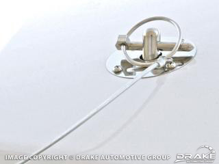 64-73 SS deluxe hood pin kit