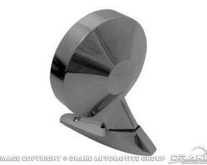 """64-66 Remote Control """"Dummy"""" Mirror (Rotunda logo, RH)"""