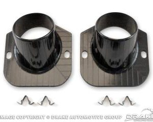 64-66 Defroster Ducts & Clips