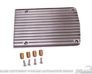 A/C Compressor Cover Plain (Polished)