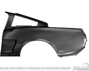 65-6 Fastback Quarter Panel (1 Piece, LH)