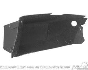 64-6 Glove Box (Black, Flocked)