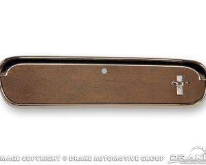 65-66 Pony Glove Box Door (Woodgrain)