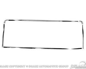64-66 Coupe Rear Window Molding