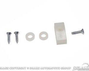 64-66 Seat Side Molding Mount Kit (6 Pieces)