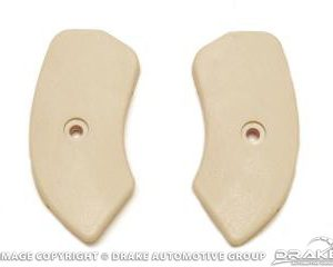 64-67 Seat Hinge Covers (Neutral)