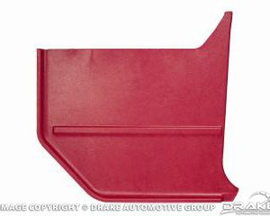 64-65 Convertable Kick Panels (Bright Red)