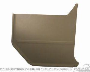 64-65 Convertable Kick Panels (Ivy Gold)