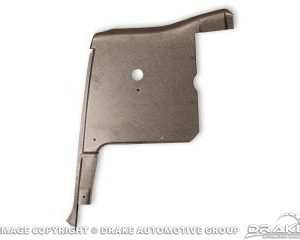 64-6 Right hand interior convertible steel qtr pnl