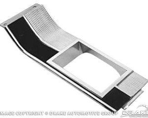 64-66 Auto Console Shift Plate