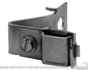 64-65 Fuel Line Bracket (Zinc)
