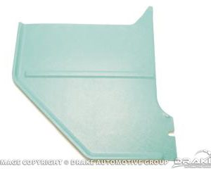 1966 Coupe & Fastback Kick Panels (Aqua)