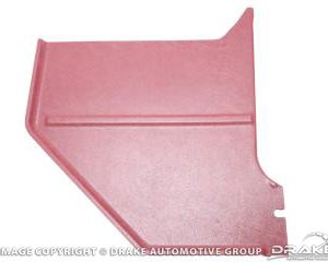 1966 Coupe & Fastback Kick Panels (Dark Red)