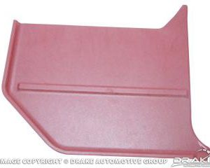 1966 Convertable Kick Panels (Dark Red)