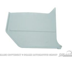 1966 Convertable Kick Panels (Light Blue)